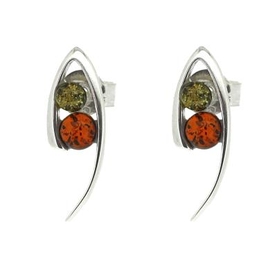 "Classic Amber ""Odyssey"" Mixed Studs"