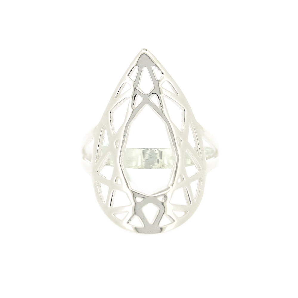 Geo Diamonds Pear Cut Ring