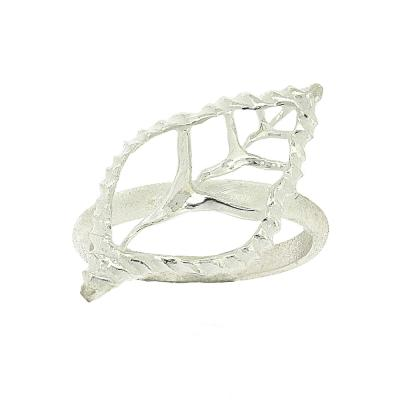 Kitten Open Empty Shell Ring