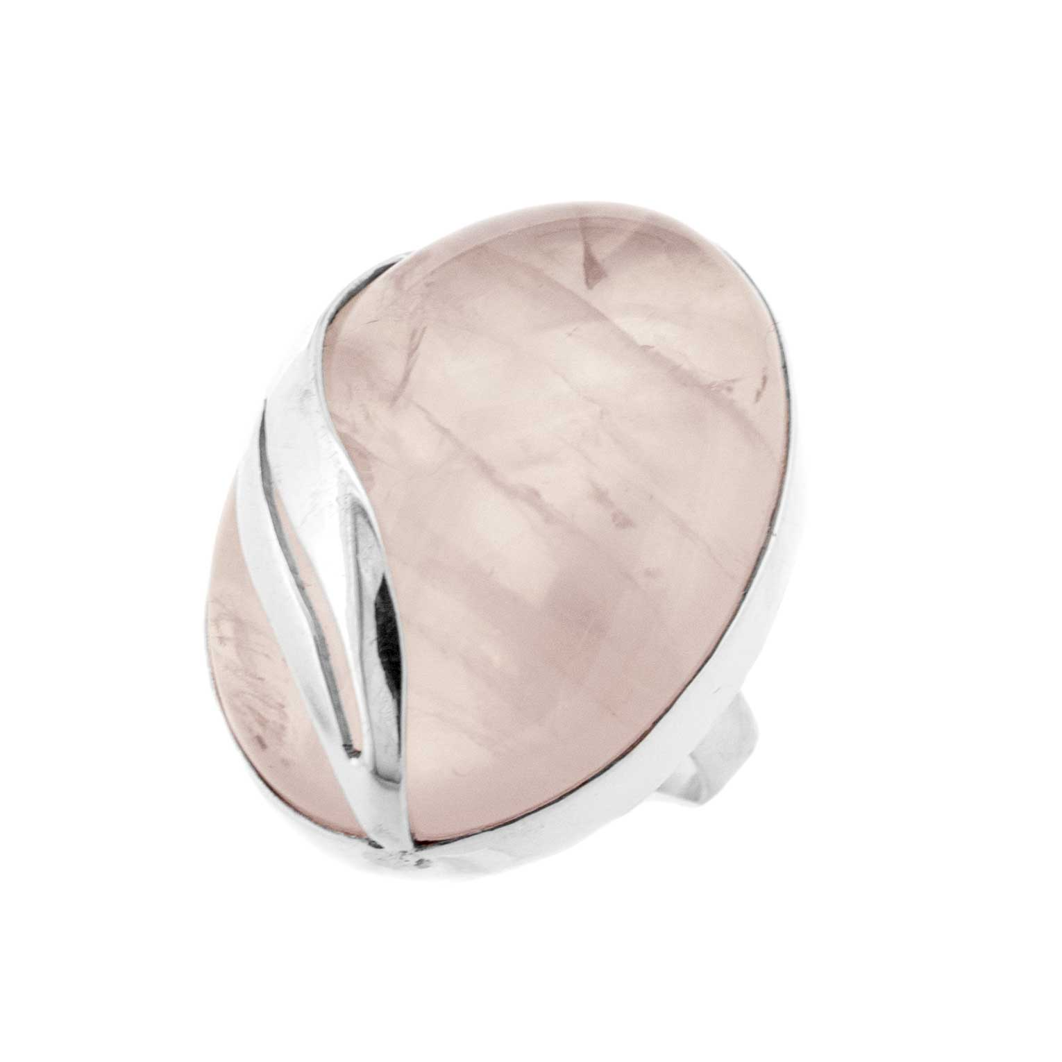 Bespoke Rose Quartz Ring