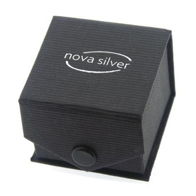 Nova Silver Ring or Stud Gift Box