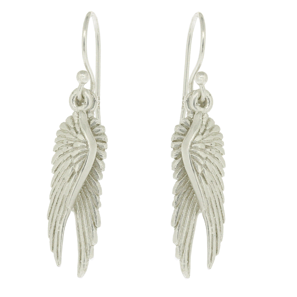 Kitten Angel Wing Earrings