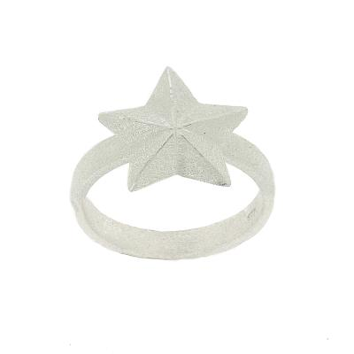 Kitten Festive Single Star Ring
