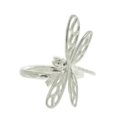 Kitten Dragonfly in Flight Ring