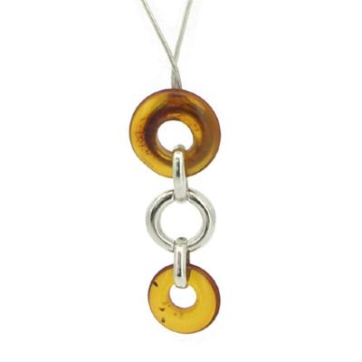 Amber Art 'Trilogy' Necklace