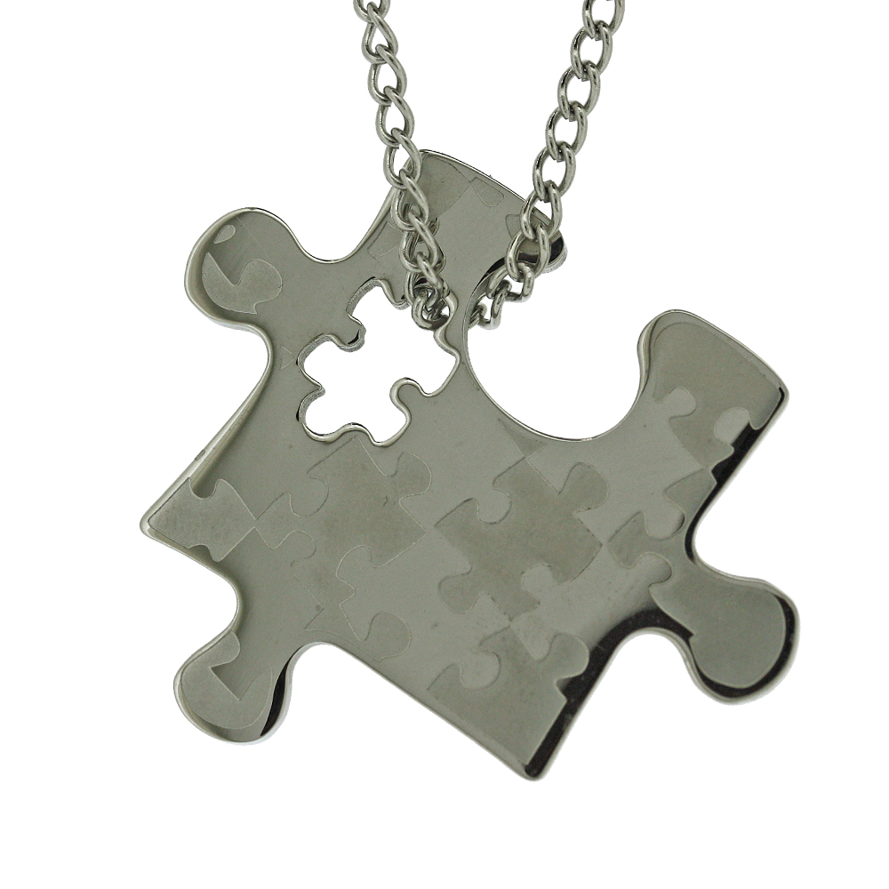 Stainless steel pendants shop nova steel jigsaw pendant aloadofball Images