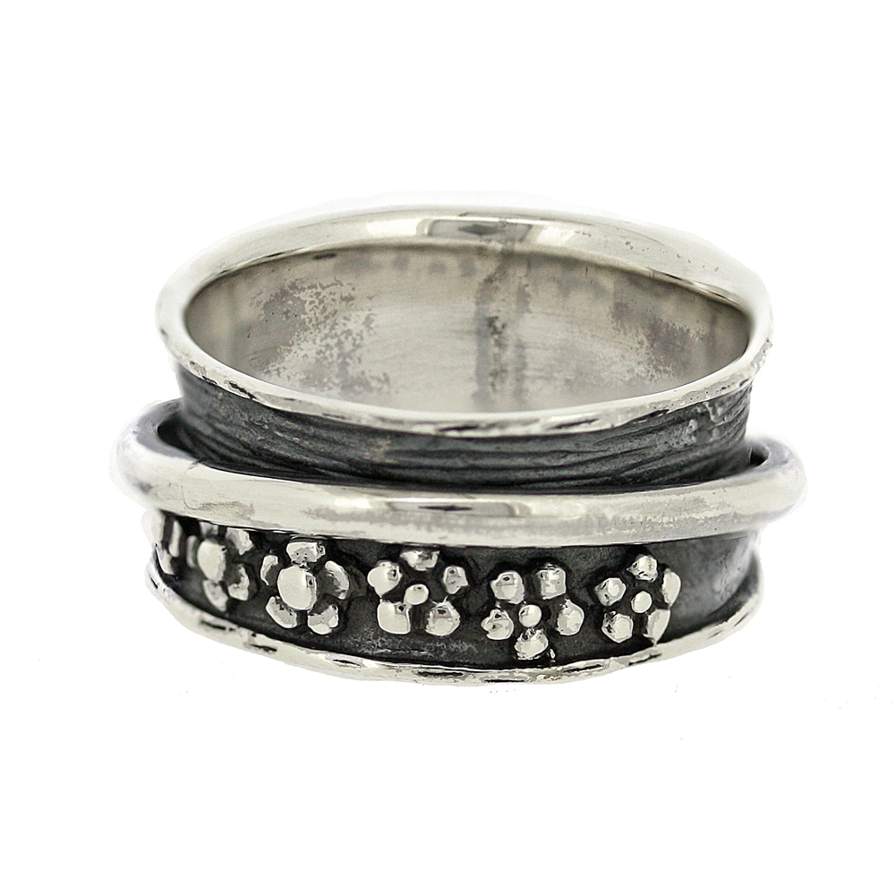 Flowers Spinner Ring