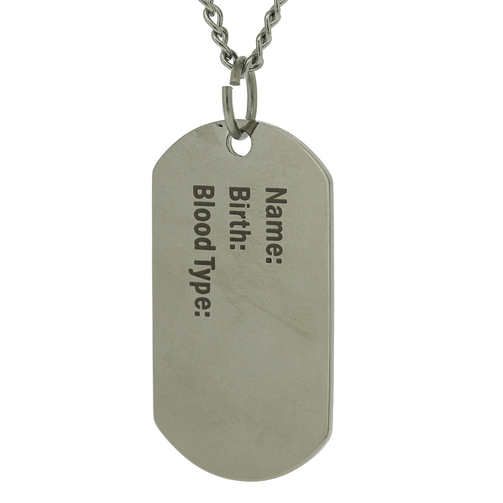 Nova Steel Dog Tag Pendant