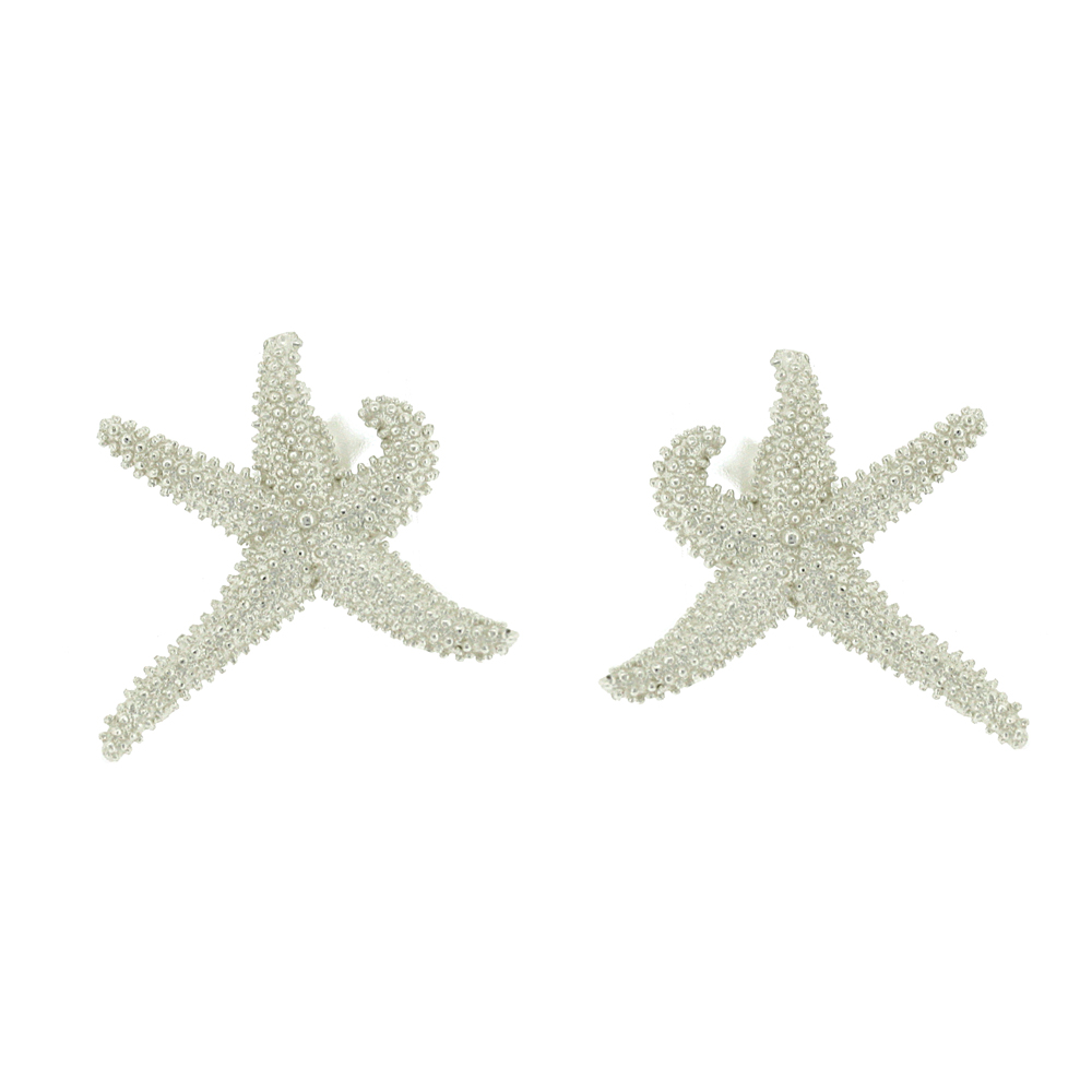 Kitten Sea Star Stud Earrings
