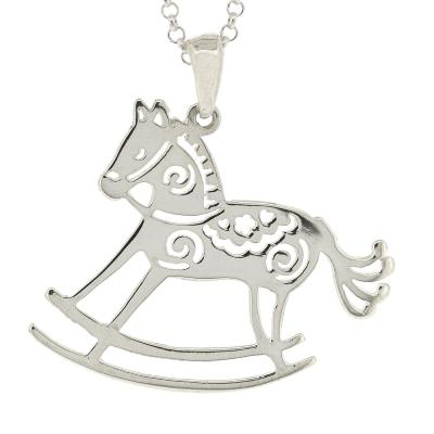 Kitten Rocking Horse Pendant