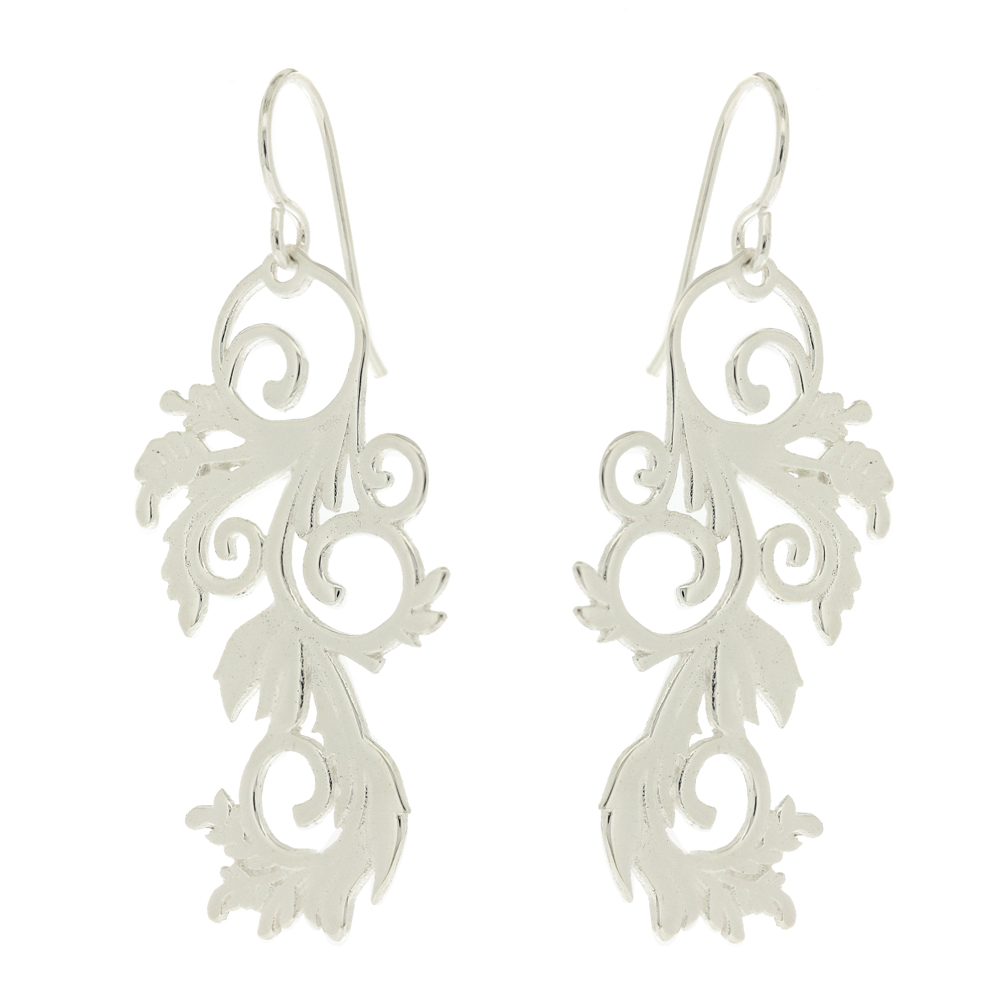 Vine Leaves Earrings