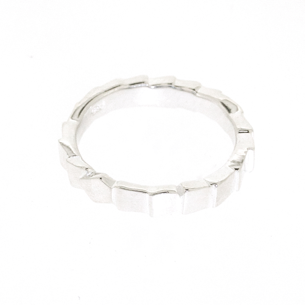 Simply Silver Glacier Ring