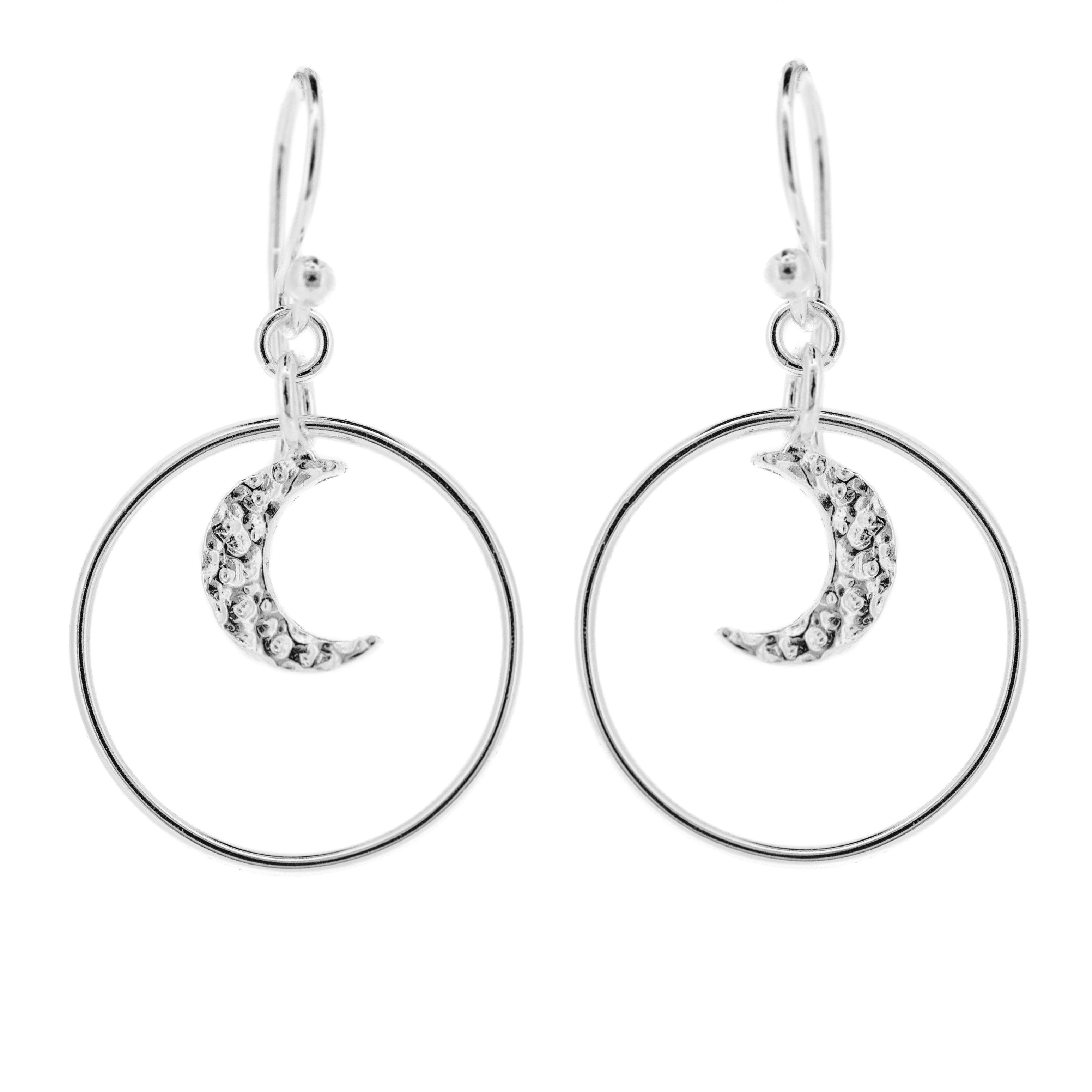 Kitten Moon Earrings