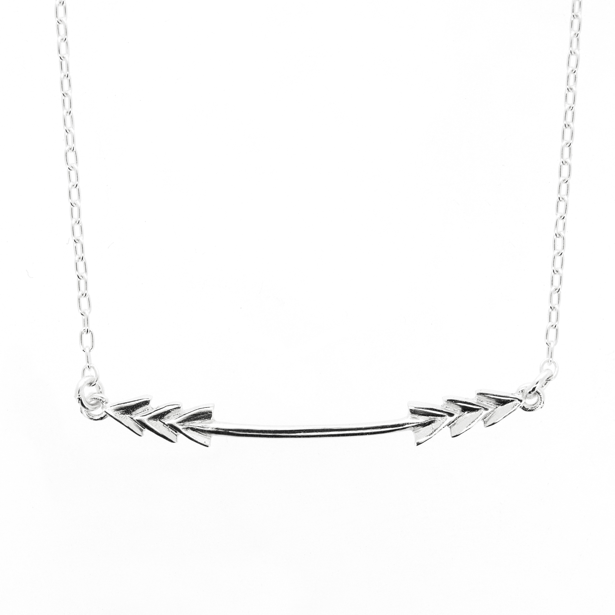 Kitten Triple Arrow Necklace