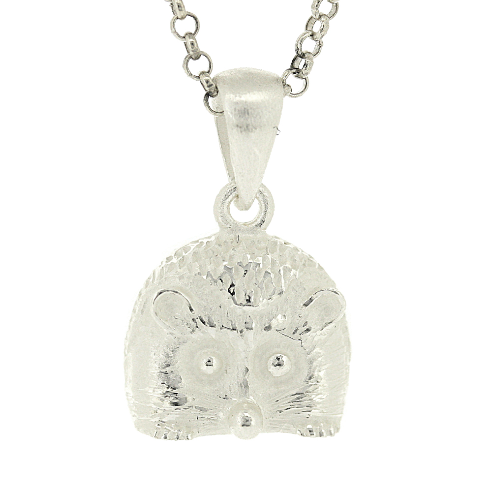 Kitten Hedgehog Pendant