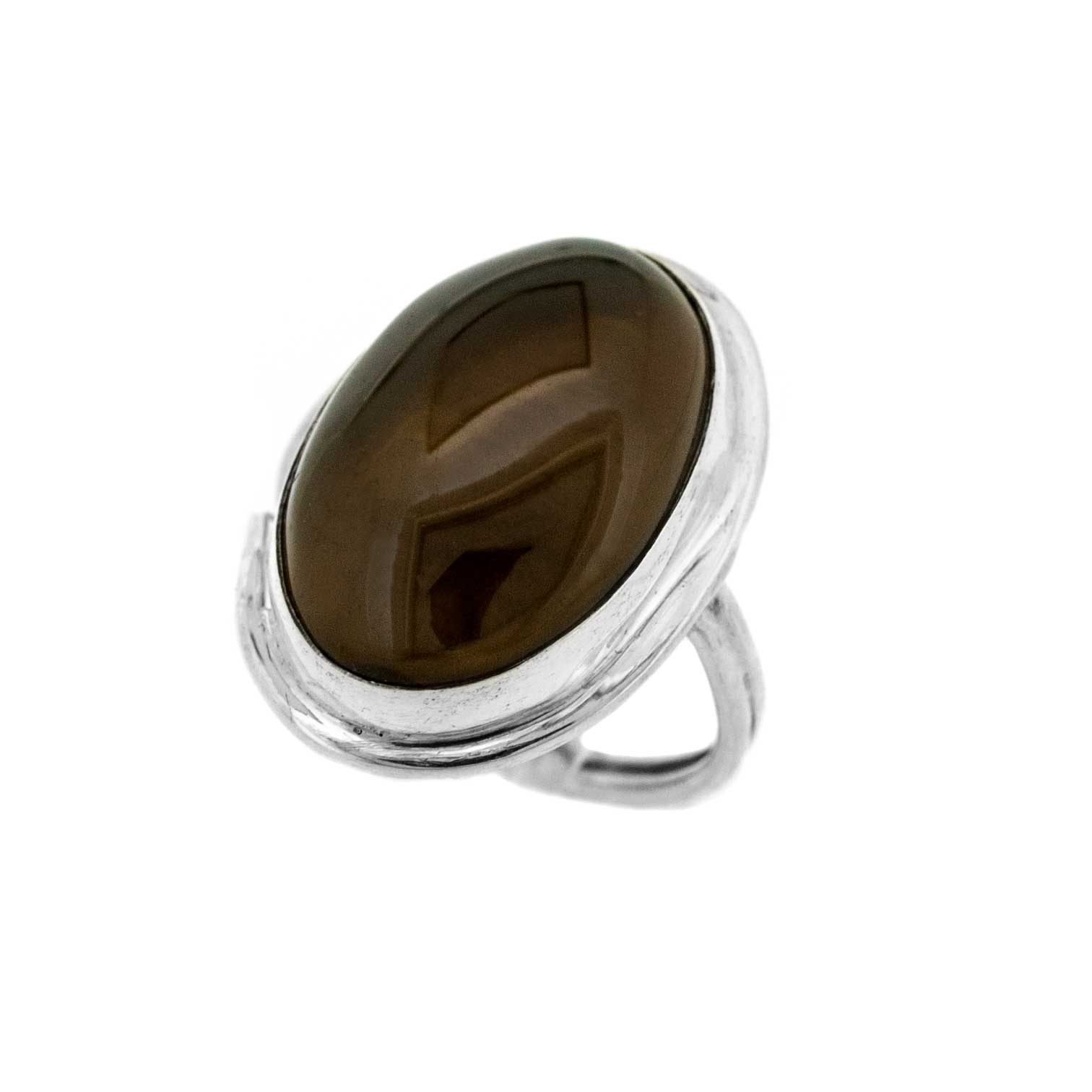 Bespoke Smokey Quartz Ring