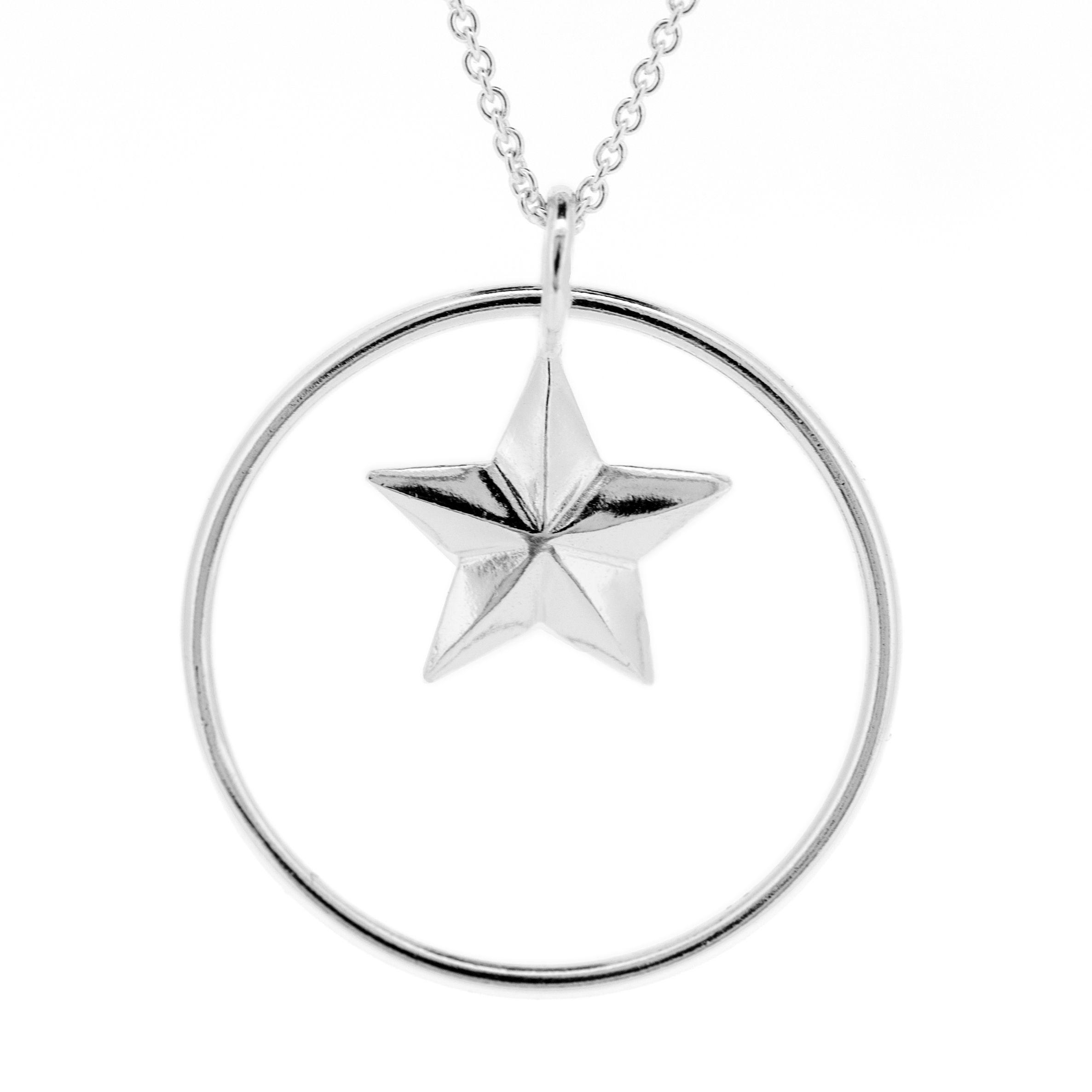 Kitten Star Pendant