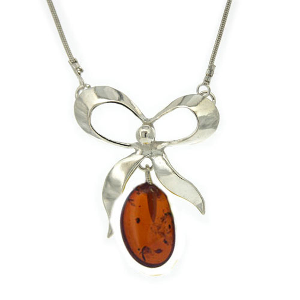 Amber Organics Bow Necklace
