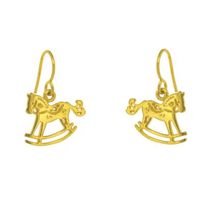 Kitten Rocking Horse Earrings