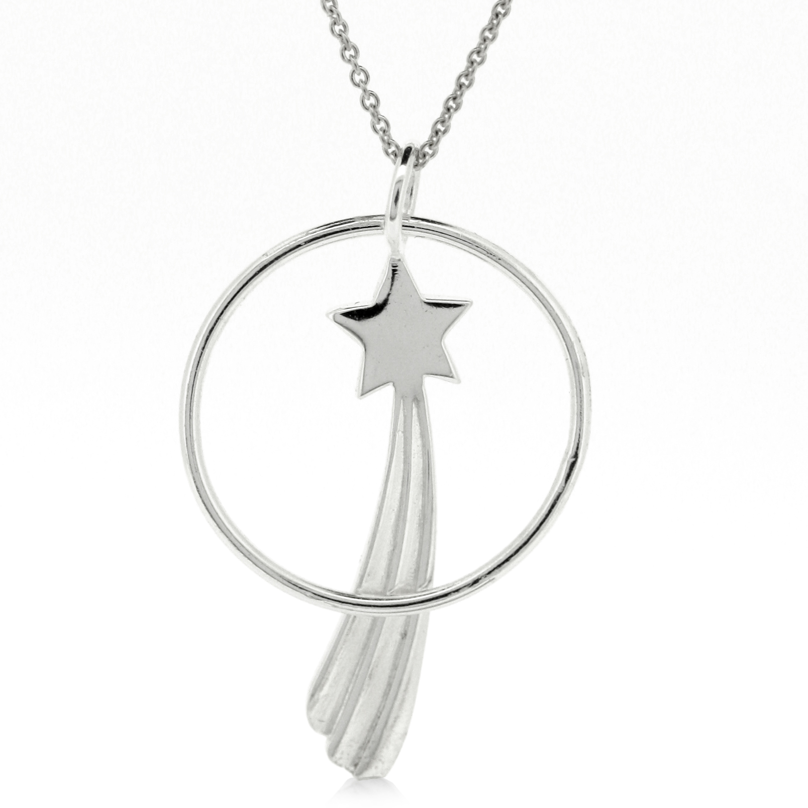 Kitten Shooting Star Pendant