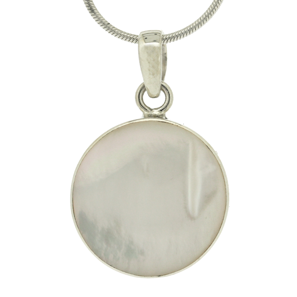 Bespoke Mother of Pearl Shell Pendant