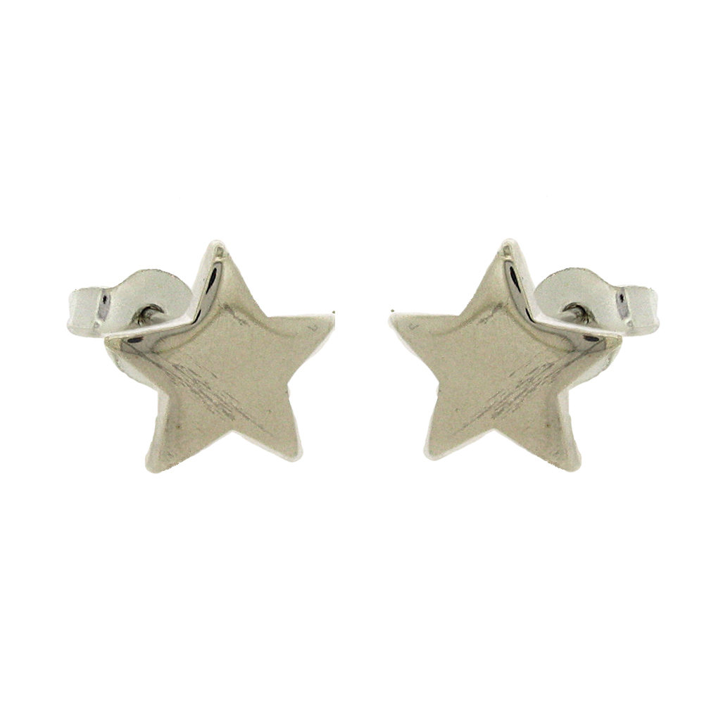 Simply Silver Star Studs