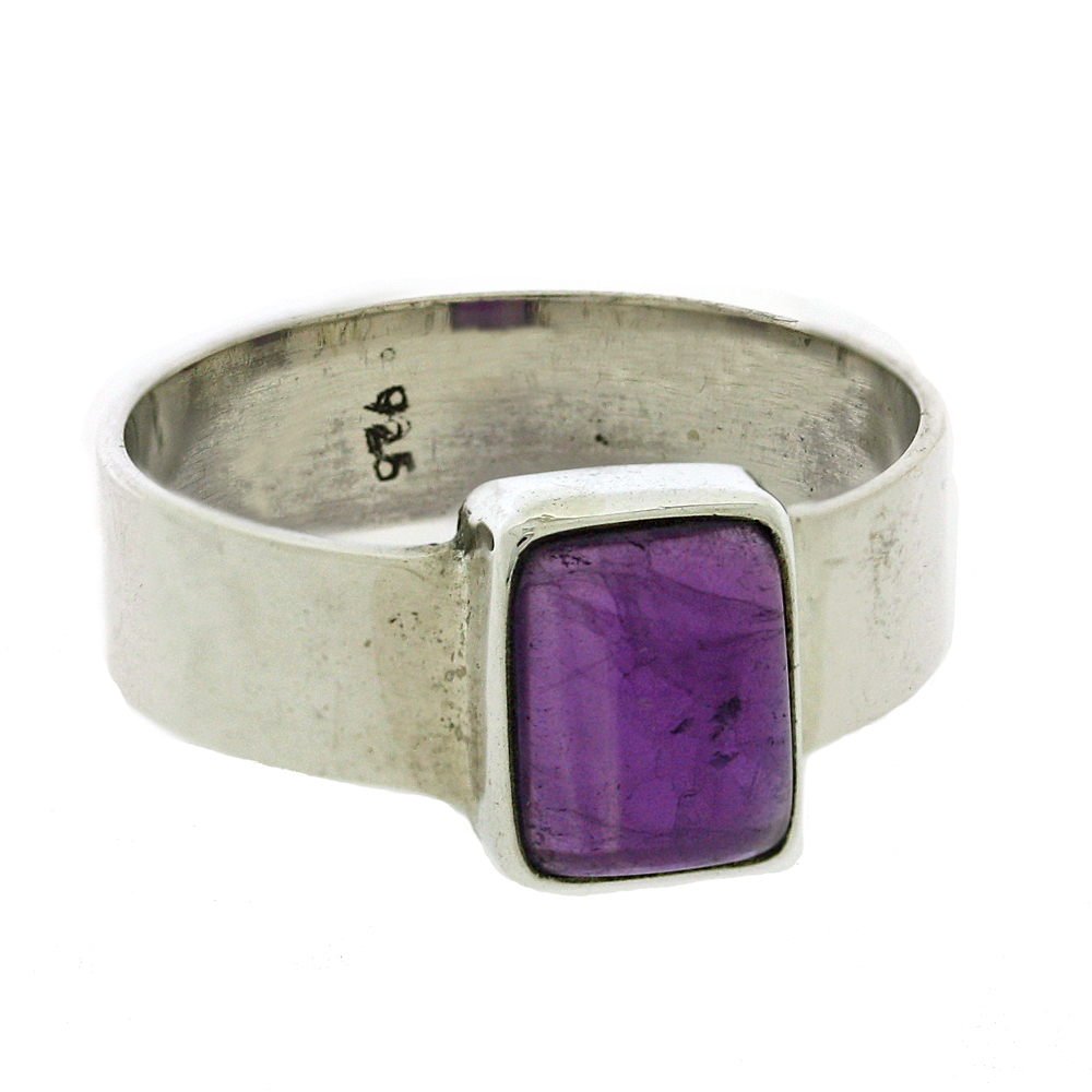 Bemine Rectangle Stone Ring