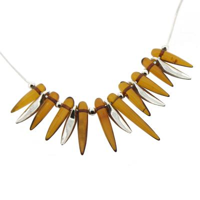 Amber Art Amber 'Tooth' Necklace