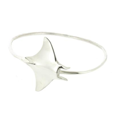 Kitten Manta Ray Bangle