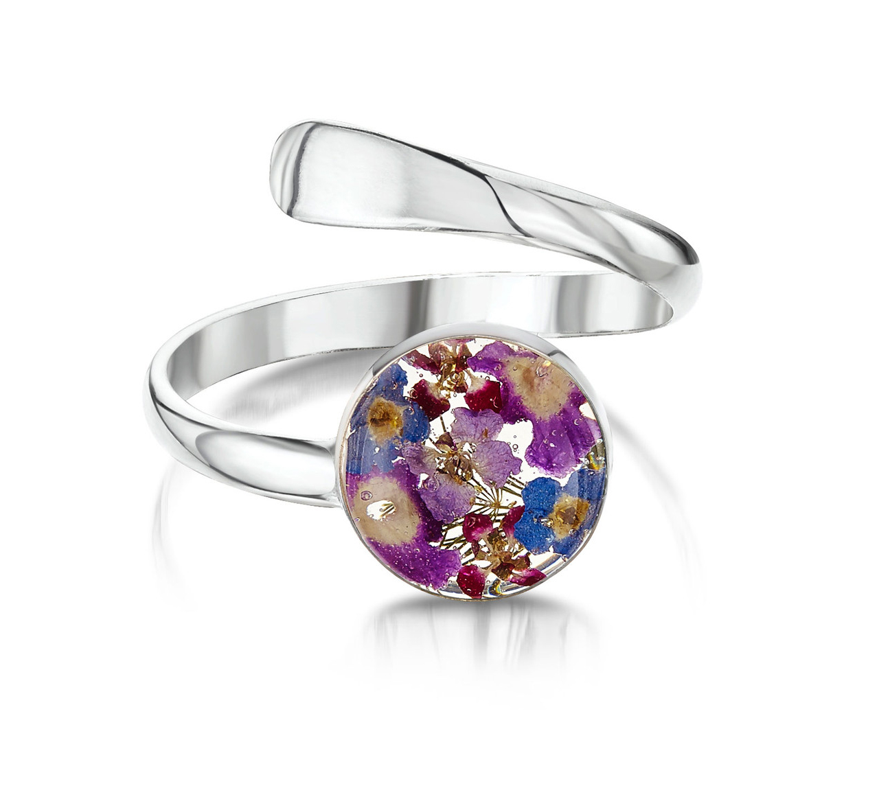 Shrieking Violet Purple Haze Round Ring