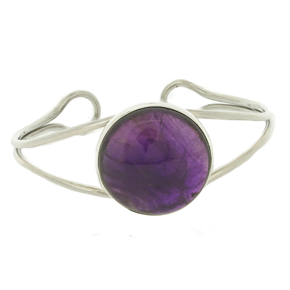 Bespoke Amethyst Bangle