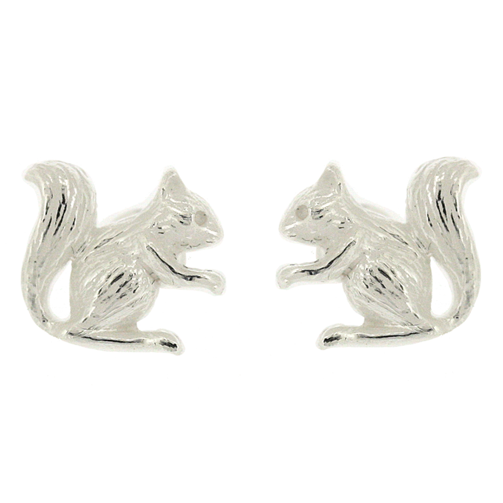 Kitten Squirrel Studs Earrings
