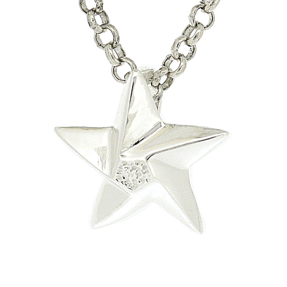 Kitten Flying Star Pendant