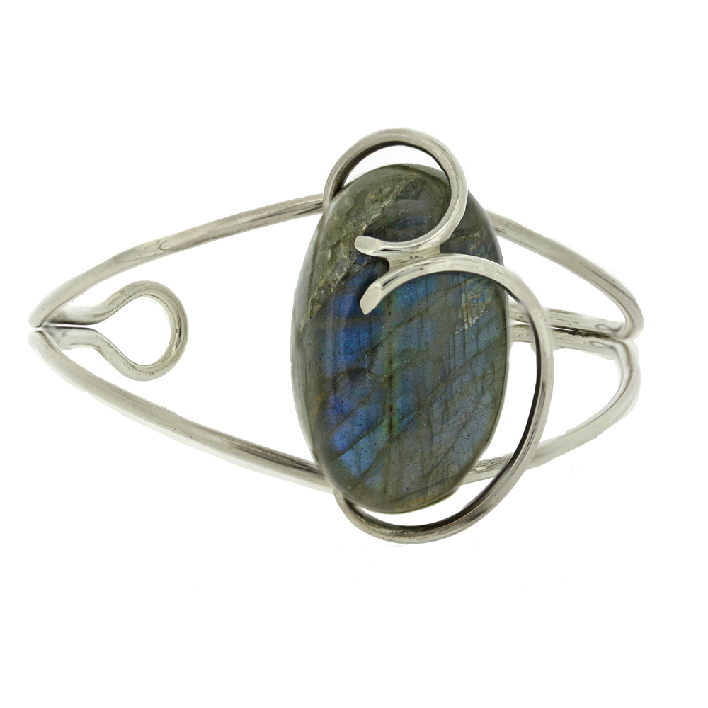 Bespoke Labradorite Bangle