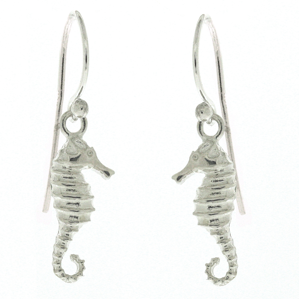 Kitten Sea Horse Earrings