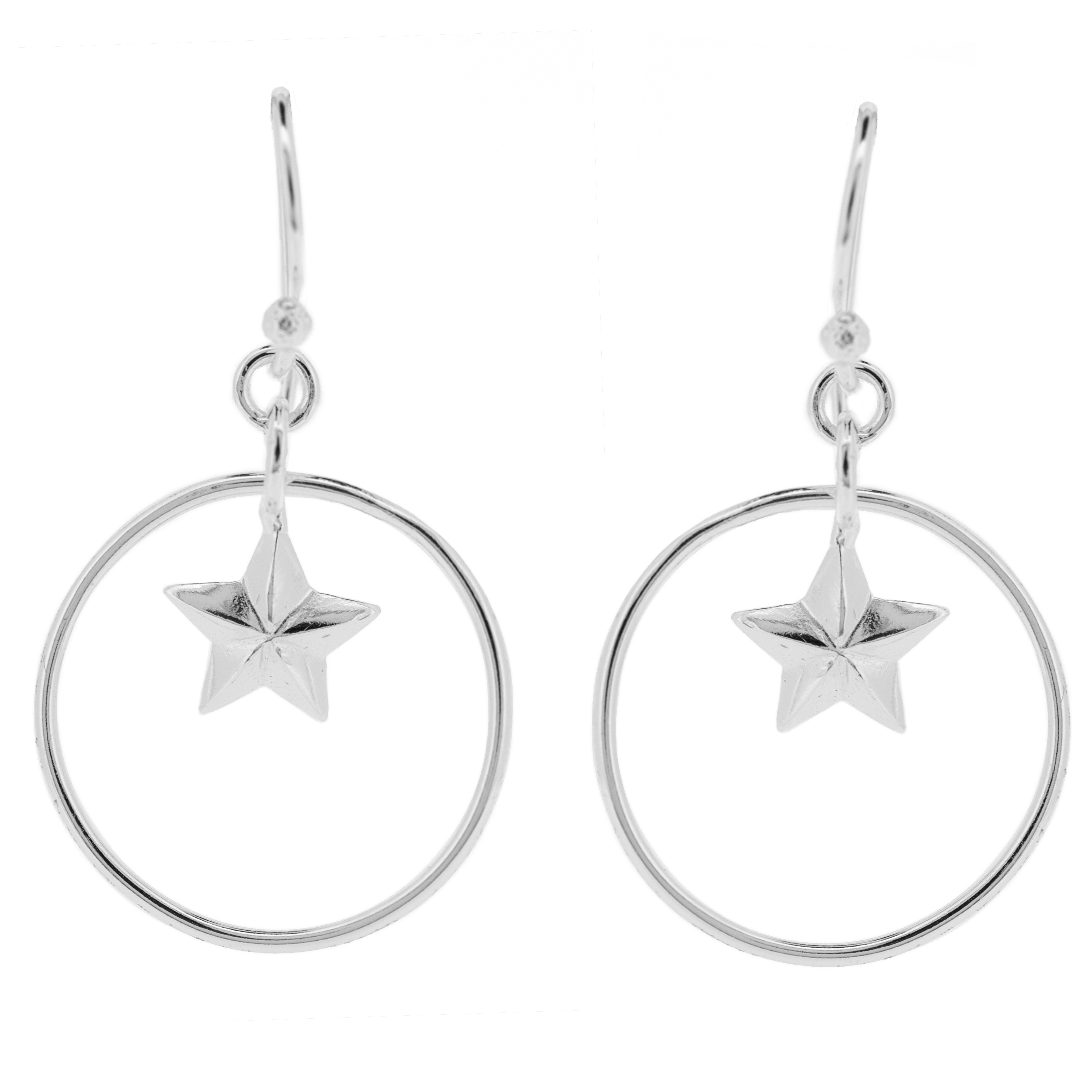 Kitten Star Earrings
